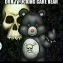 Dont fucking care bear