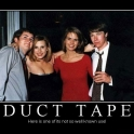 Duct Tape Here is one of its not so well known use2