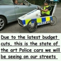 Due to the latest budget cuts....