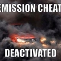 Emission cheat deactivated