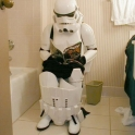 Even Stormtroopers have to take a break