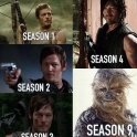 Evolution of Daryl