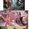 Evolution of slumber parties