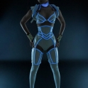 Female Tron