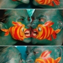 Fish Face Art