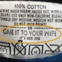 Give it to the wife