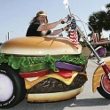 Hamburger Motorcycle