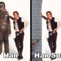 Han and Han Solo