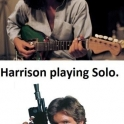 Harrison playing Solo