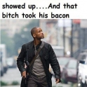 Have you ever noticed in I Am Legend...
