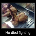 He died fighting2