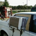Home made car air conditioning