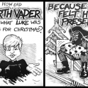 How did Darth Vader know what Luke was getting for Christmas