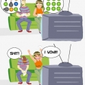 How the girlfriend wins at video games