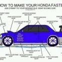 How to make your Honda Faster