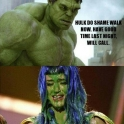 Hulk Do Shame Walk