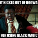 I got kicked out of Hogwarts