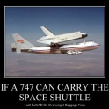 If A 747 Can Carry The Space Shuttle2