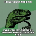 If Hillary Clinton wins in 2016...