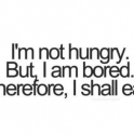 Im not hungry