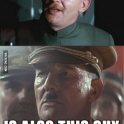 James Earl Jones and Harrison Ford devise a plan kill Hitler