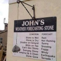Johns weather forcasting stone