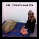 Just listening to some rock