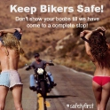 Keep bikers safe