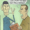 Knock it off Spock