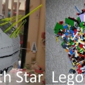 LEGO Death Star and LEGO Alderaan