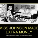 Miss Johnson made extra money2