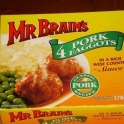 Mr Brains Pork 4 Faggots