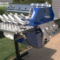 Muscle Car Engine BBQ