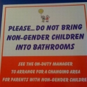 No non gender children please
