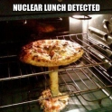 Nuclear lunch detected