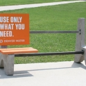 Only use what you need bench