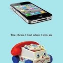 Phones over the ages