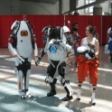 Portal 2 Co op Bots Chell Cosplay