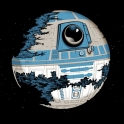 R2D2 Looks Like The Death Star