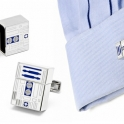 R2D2 USB Pen Drive Cufflinks