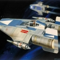 Ralph McQuarrie A Wing Fighter