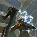 Ralph McQuarrie Emperor Palpatine Attacking Luke