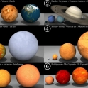 Size Difference of Planets