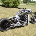Skeleton Motorcycle