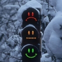 Smiley Traffic Lights