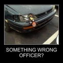 Something wrong officer2