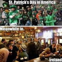 St. Patricks day in America