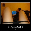 StarCraft What did you give up for it