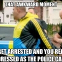 That awkward moment when you look like a police car
