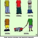 The Evolution Of Baggy Pants